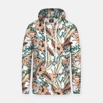 Thumbnail image of Floral tropic terracotta 01 Sudadera con capucha, Live Heroes