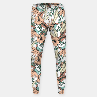 Thumbnail image of Floral tropic terracotta 01 Pantalones de chándal , Live Heroes