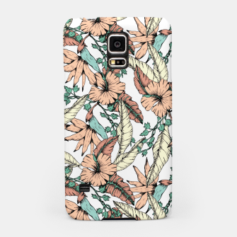 Thumbnail image of Floral tropic terracotta 01 Carcasa por Samsung, Live Heroes