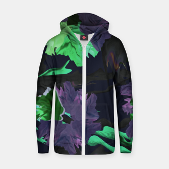 Thumbnail image of neuroflower Zip up hoodie, Live Heroes