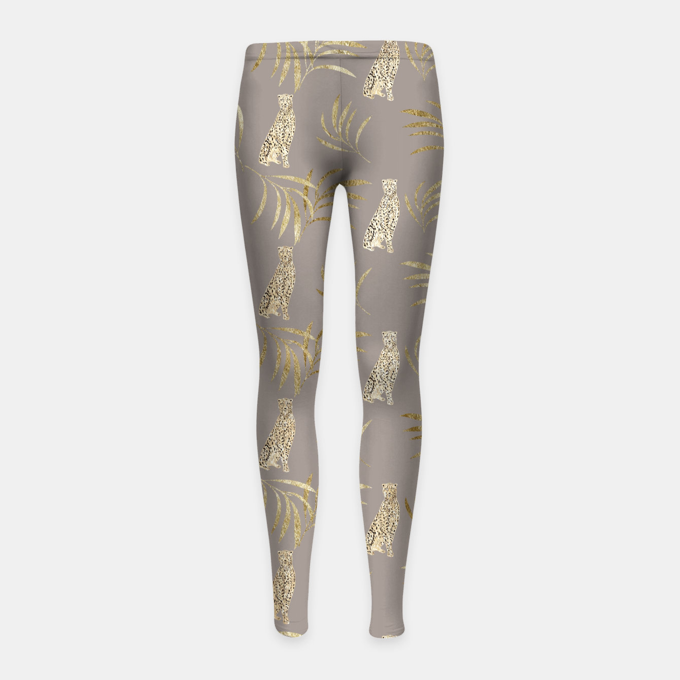 Image de Cheetah Eucalyptus Glam Pattern #8 #tropical #decor #art Kinder-Leggins - Live Heroes