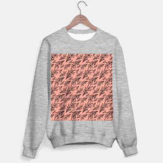 Thumbnail image of Feeling of lightness Pattern III - Melon color Sweater regular, Live Heroes