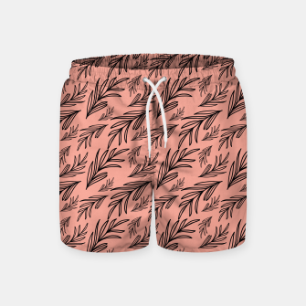 Thumbnail image of Feeling of lightness Pattern III - Melon color Swim Shorts, Live Heroes