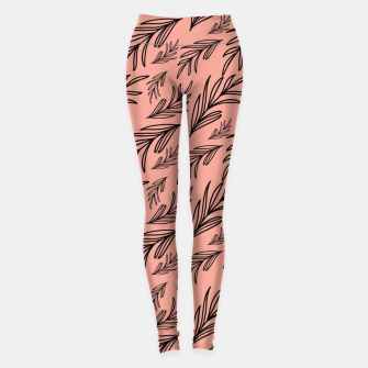 Thumbnail image of Feeling of lightness Pattern III - Melon color Leggings, Live Heroes