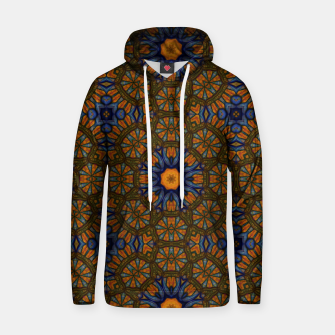 Thumbnail image of Blue and Yellow Sketch Kaleidoscope Hoodie, Live Heroes
