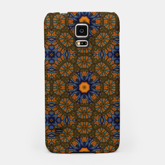 Thumbnail image of Blue and Yellow Sketch Kaleidoscope Samsung Case, Live Heroes