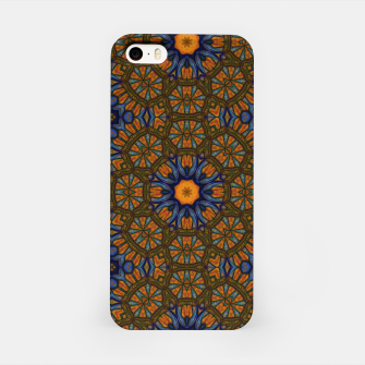 Thumbnail image of Blue and Yellow Sketch Kaleidoscope iPhone Case, Live Heroes