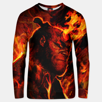 Thumbnail image of hellboy Unisex sweater, Live Heroes