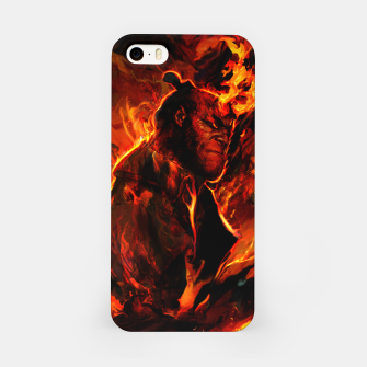 Thumbnail image of hellboy iPhone Case, Live Heroes
