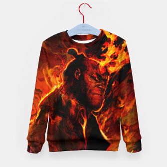 hellboy Kid's sweater obraz miniatury