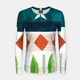 Thumbnail image of Aesthetic Women sweater, Live Heroes