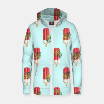 Thumbnail image of Tropical Popsicles Zip up hoodie, Live Heroes