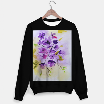 Thumbnail image of purple flowers Bluza standard, Live Heroes