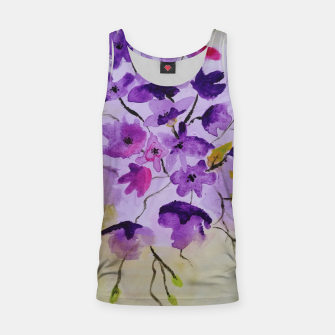 purple flowers Tank Top thumbnail image