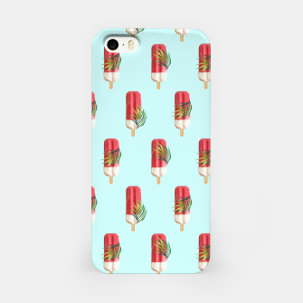 Miniatur Tropical Popsicles iPhone Case, Live Heroes