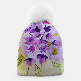Thumbnail image of purple flowers Czapka, Live Heroes