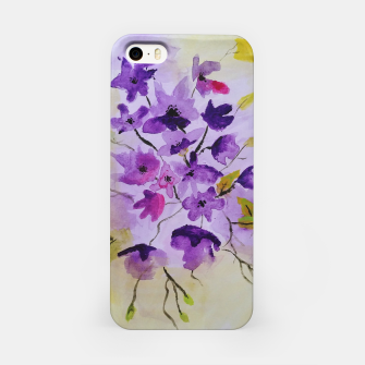 Thumbnail image of purple flowers Obudowa iPhone, Live Heroes