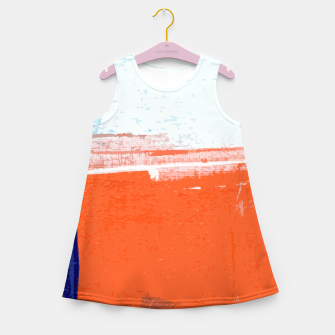 Miniatur Regeneration Girl's summer dress, Live Heroes