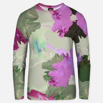 Thumbnail image of Flower tone Unisex sweater, Live Heroes