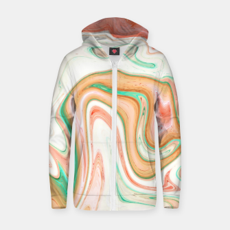 Thumbnail image of Musk Melon Zip up hoodie, Live Heroes
