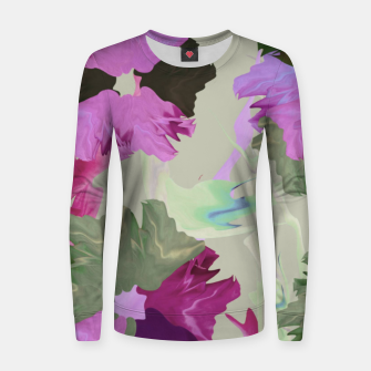 Thumbnail image of Flower tone Women sweater, Live Heroes