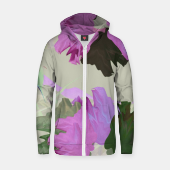 Thumbnail image of Flower tone Zip up hoodie, Live Heroes