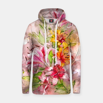 Thumbnail image of Lilies Bunch Hoodie, Live Heroes