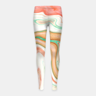Thumbnail image of Musk Melon Girl's leggings, Live Heroes