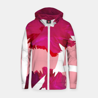 Thumbnail image of Rose flowers  Zip up hoodie, Live Heroes