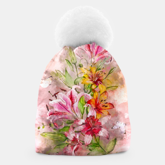 Thumbnail image of Lilies Bunch Beanie, Live Heroes