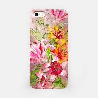 Thumbnail image of Lilies Bunch iPhone Case, Live Heroes