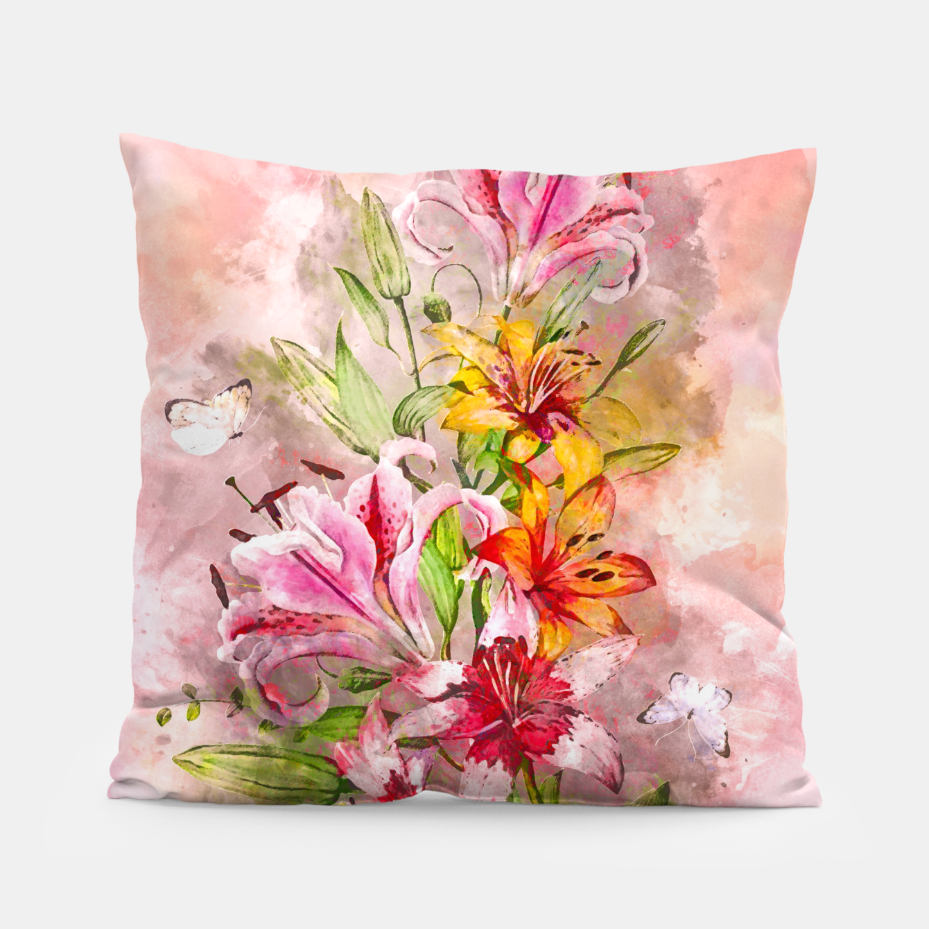 Foto Lilies Bunch Pillow - Live Heroes