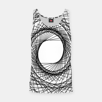 Thumbnail image of Abstract geometric pattern - black and white. Tank Top, Live Heroes