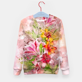 Thumbnail image of Lilies Bunch Kid's sweater, Live Heroes