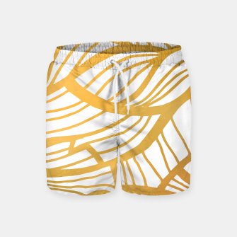 Thumbnail image of Golden Summer Swim Shorts, Live Heroes