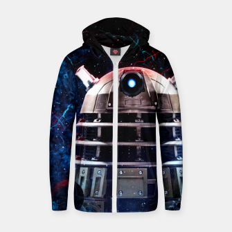 Thumbnail image of Galaxy Style 14 Sudadera con capucha y cremallera , Live Heroes