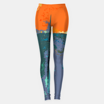 Miniatur Shredder Patches Leggings, Live Heroes