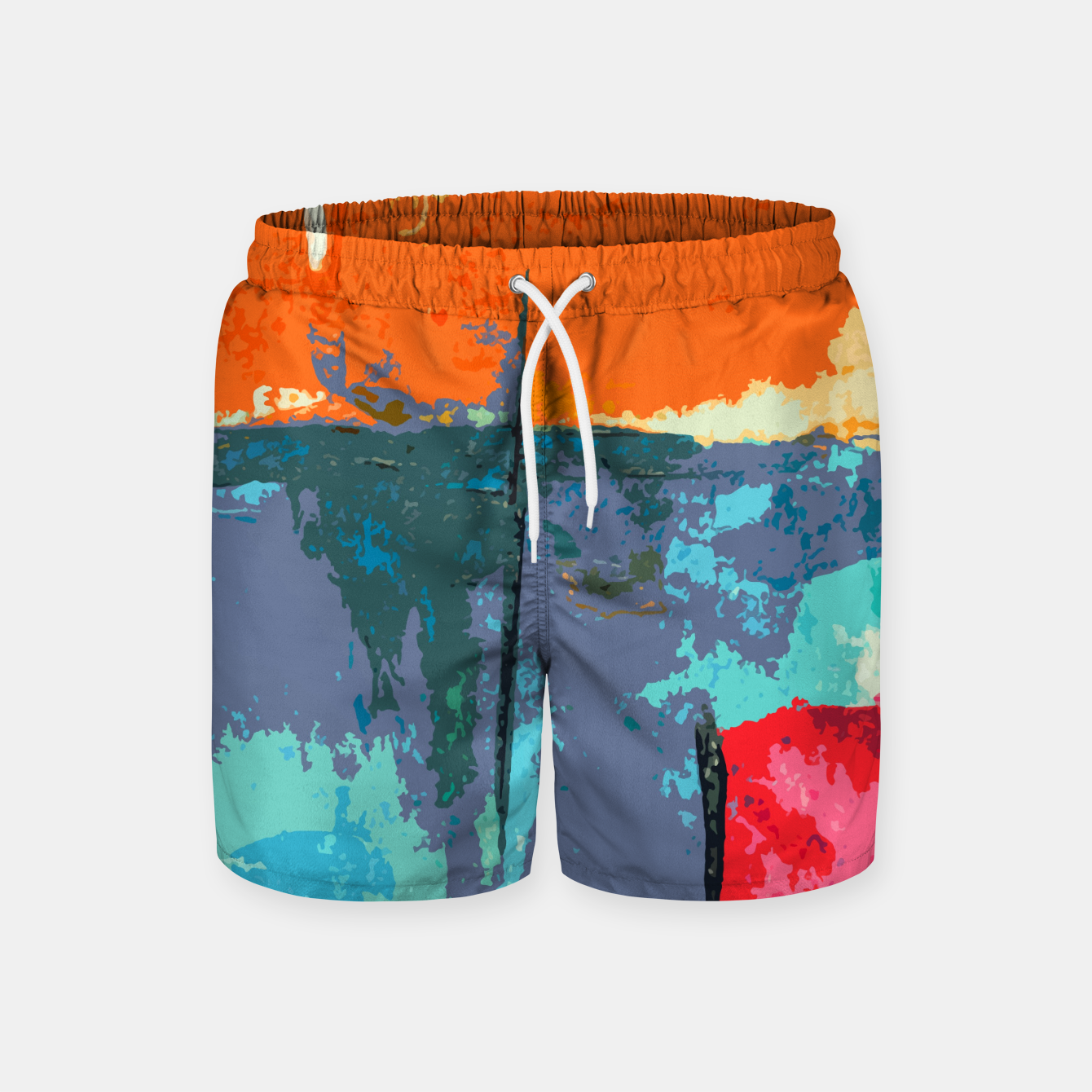 Zdjęcie Shredder Patches Swim Shorts - Live Heroes