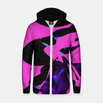 Thumbnail image of violette  Zip up hoodie, Live Heroes