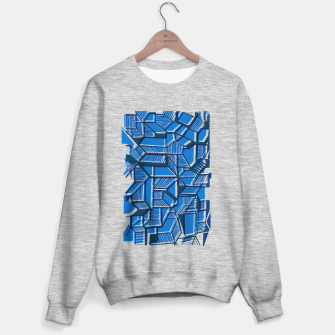 Thumbnail image of Geometric abstract art Sweater regular, Live Heroes