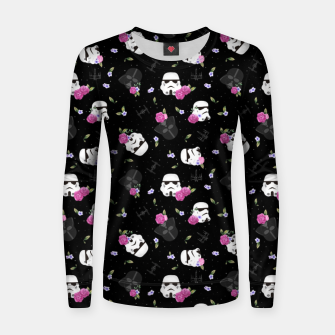 Thumbnail image of Floral Wars Women sweater, Live Heroes