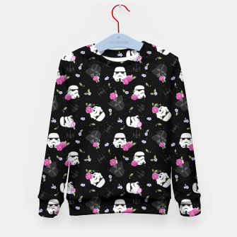 Thumbnail image of Floral Wars Kid's sweater, Live Heroes