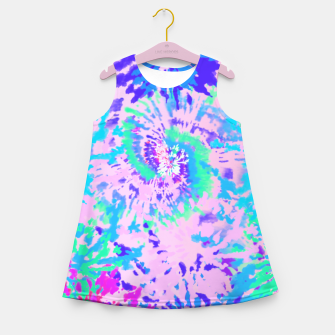 Miniatur EUPHORIA Girl's summer dress, Live Heroes