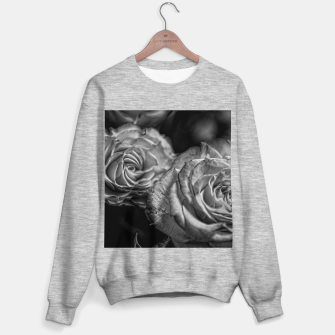 Thumbnail image of Black and White Roses Sweater regular, Live Heroes