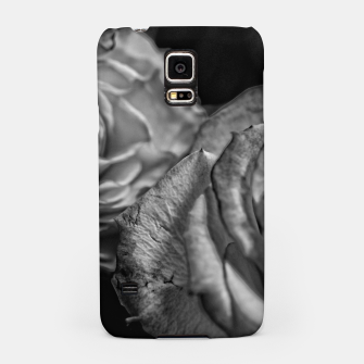 Thumbnail image of Black and White Roses Samsung Case, Live Heroes