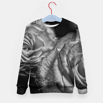 Thumbnail image of Black and White Roses Kid's sweater, Live Heroes