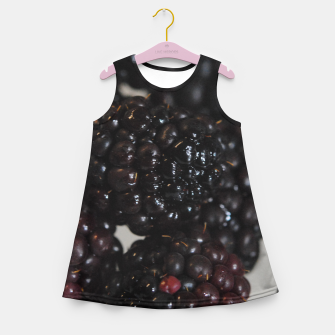 Miniatur Blackberries Girl's summer dress, Live Heroes