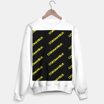 Thumbnail image of Coronavirus Sweater regular, Live Heroes