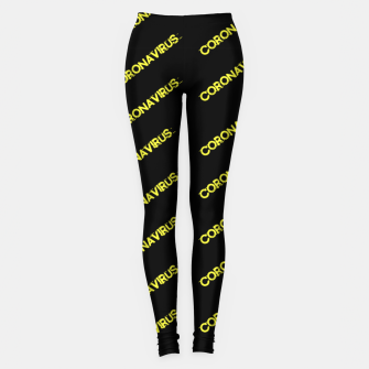 Thumbnail image of Coronavirus Leggings, Live Heroes