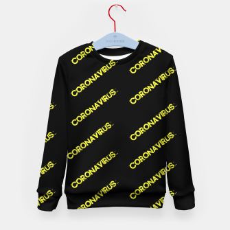 Thumbnail image of Coronavirus Kid's sweater, Live Heroes